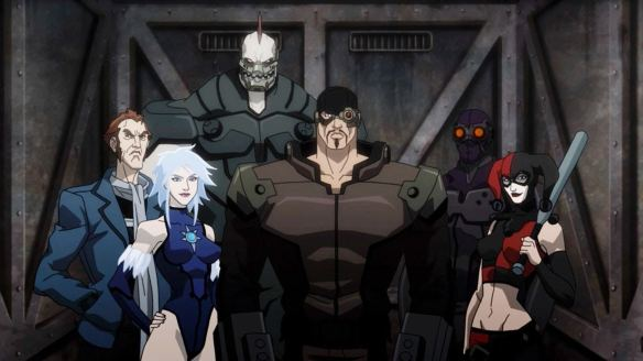 suicide squad animated