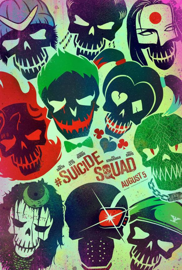 Suicide Squad Cereal logo